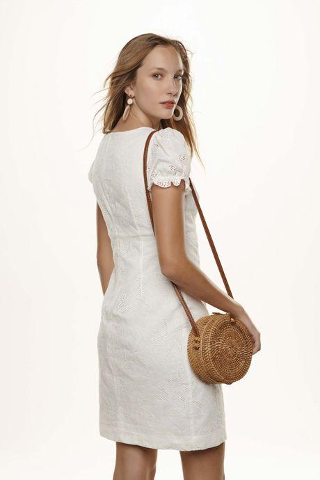 Vestido Em Laise Branco 08400056001 Gregory Mobile
